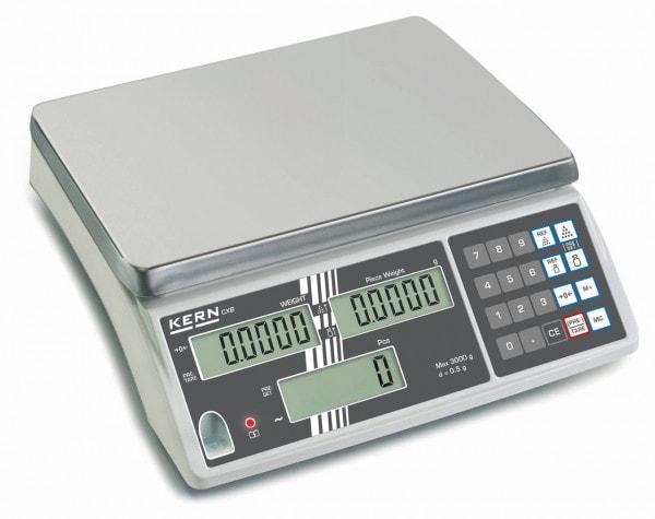 KERN Räknevåg - 3000 g / 1 g - kalibrering som tillval