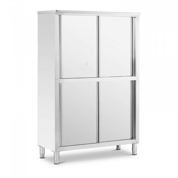 Köksskåp i rostfritt stål - 120 cm