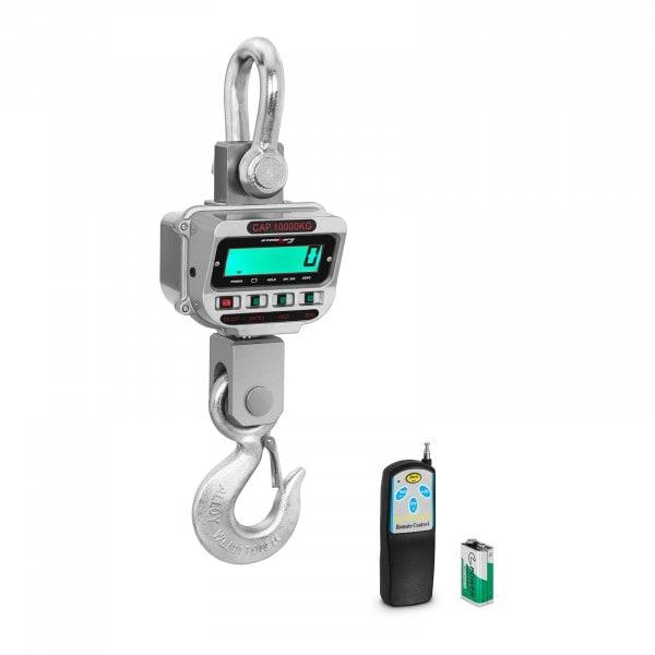 Kranvåg - 10 t / 2 kg - LCD