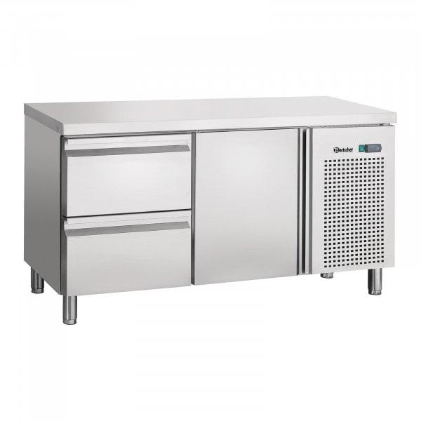 Bartscher kylbord - ventilation - 1 dörr - 2 lådor
