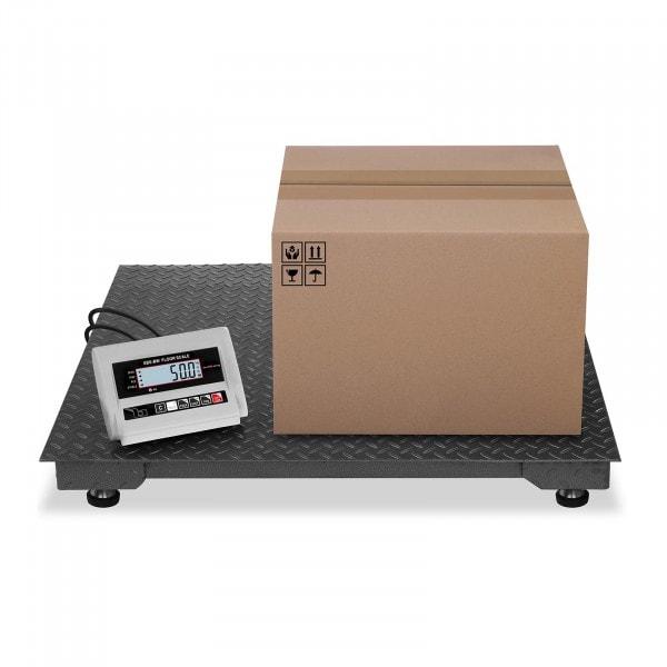 Golvvåg - 1000 kg / 0,5 kg - LCD