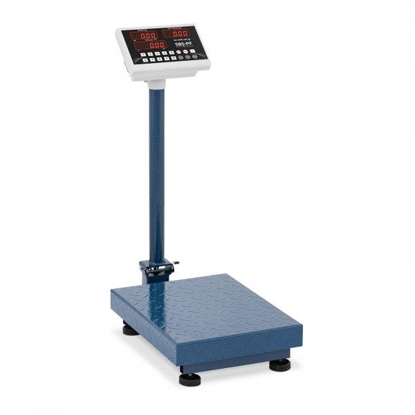 Plattformsvåg - 100 kg / 10 g - hopfällbar