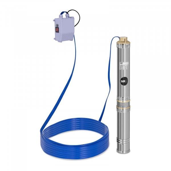 B-Sortiment Djupvattenpump - 6000 l/h - 550 W - rostfritt stål