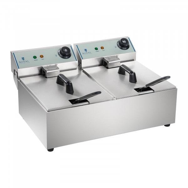 Elektrisk fritös - 2 x 10 L - ECO