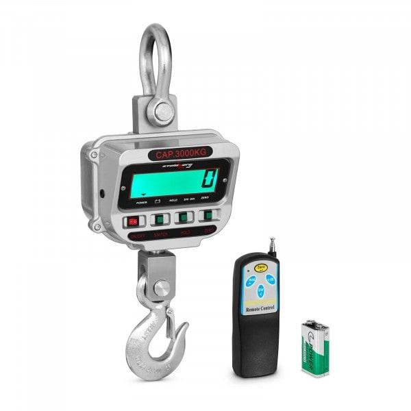 Kranvåg - 3 t / 0,5 kg - LCD
