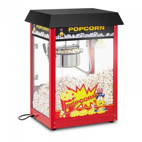 Popcornmaskin - 120 s tillagningstid - svart tak