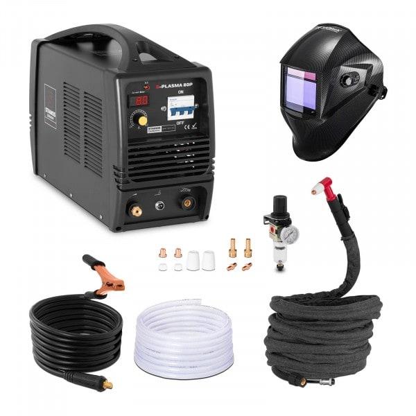 Plasmaskärare - 80 A - 400 V + Svetshjälm – Carbonic – Professional Series