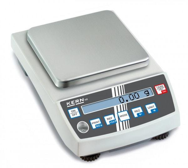 KERN Precisionsvåg - 2000 g / 0,01 g