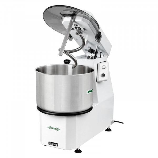 Gesamtansicht von Bartscher Teigknetmaschine - Schwenkkopf - 16 Liter