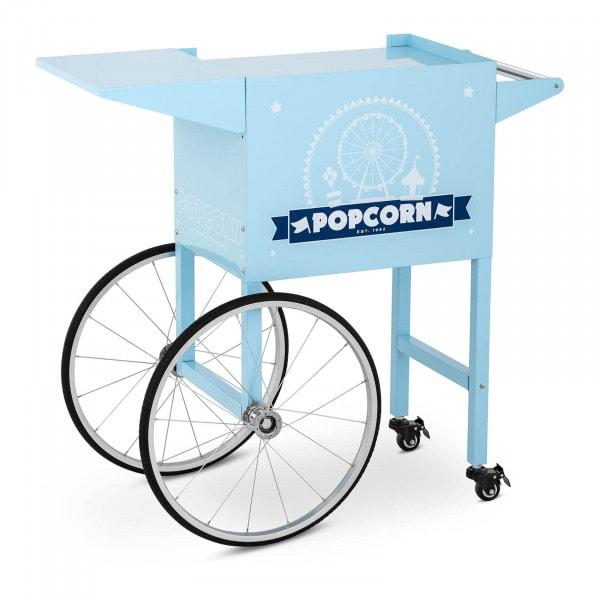 Vagn för popcornmaskin - Blå