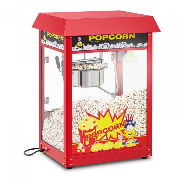Popcornmaskin - 120 s tillagningstid - rött tak