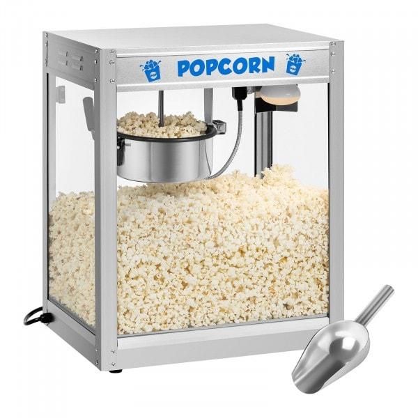 Popcornmaskin - rostfritt stål