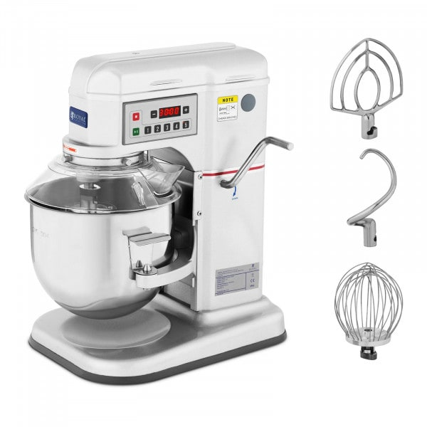 Planetmixer - 7 L - Royal Catering - 650 W - 230-580 rpm