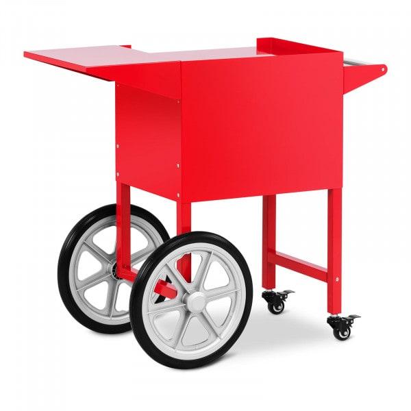 Popcornvagn - röd - 51 x 37 cm