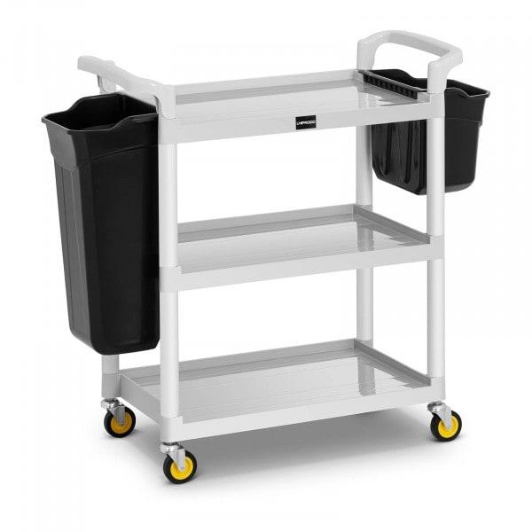 Köksvagn - 2 plastbehållare - 150 kg