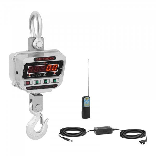 Kranvåg - 5 t / 1 kg - LED