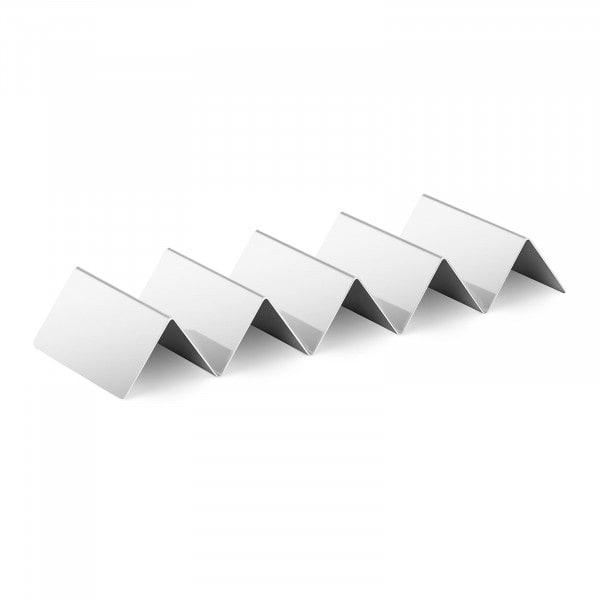 Korvställ - 4 fack - Rostfritt stål
