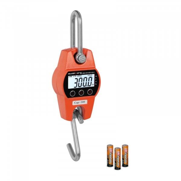 Kranvåg - 300 kg / 100 g - orange