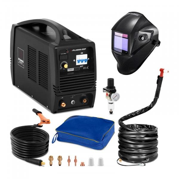 Plasmaskärare - 60 A - 400 V + Svetshjälm – Carbonic – Professional Series
