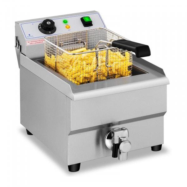 Fritös - 16 liter - 230 V - Tappkran