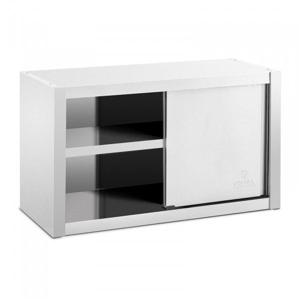 Väggskåp - 100 x 45 cm - Rostfritt stål