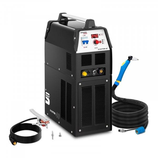 Plasmaskärare med kompressor - 40 A OD 60 % - digital - 230 V