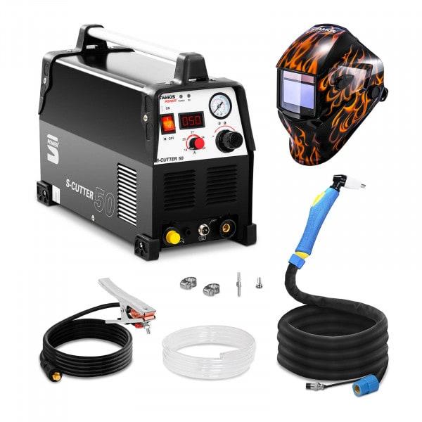 Plasmaskärare - 50 A - 230 V - pro + Svetshjälm – Firestarter 500 – Advanced Series