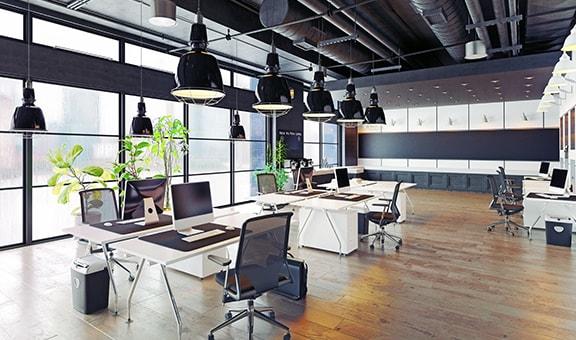 Kontorsmöbler och utrustning