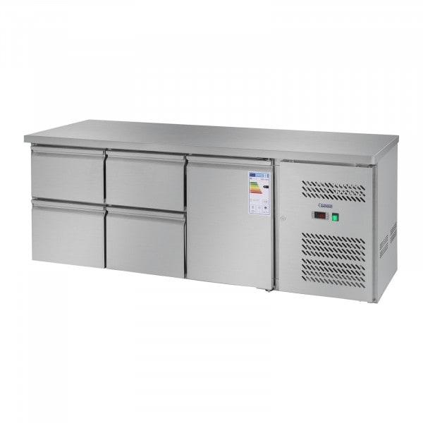 Kylbänk - 403 l - 1 dörr - 4 lådor