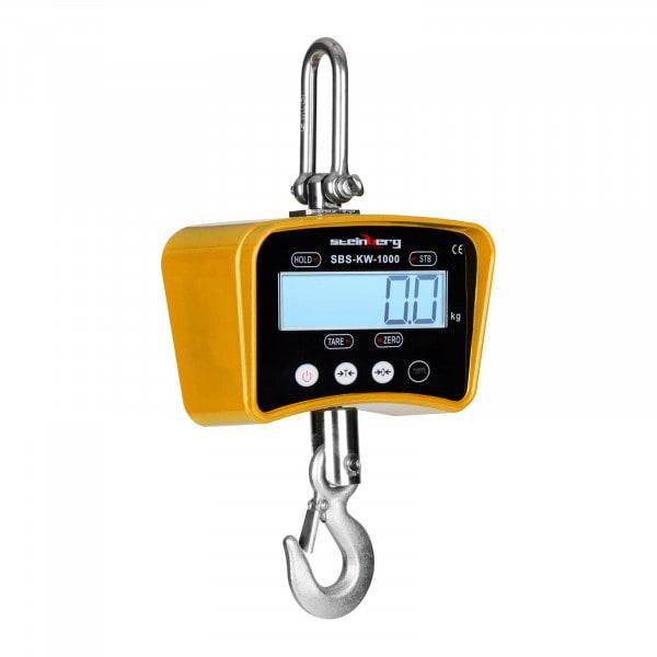 Kranvåg - 1000 kg / 0,5 kg - gul