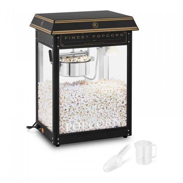 Popcornmaskin - Svart & guld