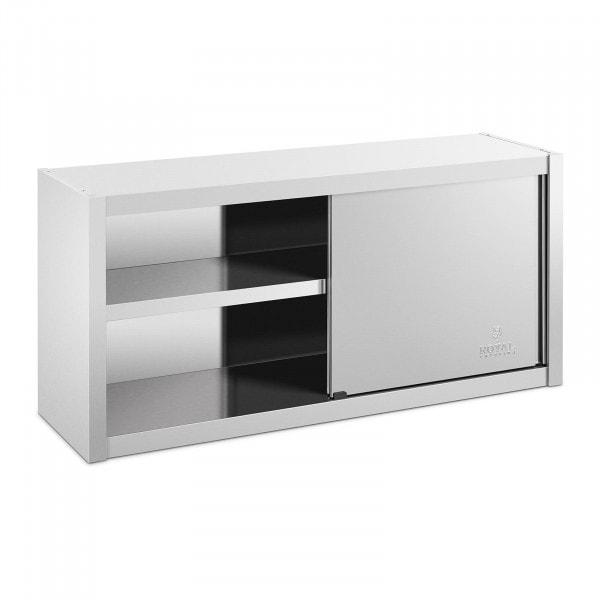 Väggskåp - 120 x 45 cm - Rostfritt stål