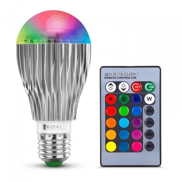 LED lampa med fjärrkontroll - 16 färginställningar - 5 W