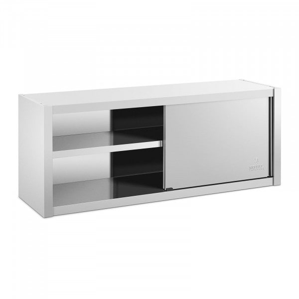 Väggskåp - 150 x 45 cm - Rostfritt stål