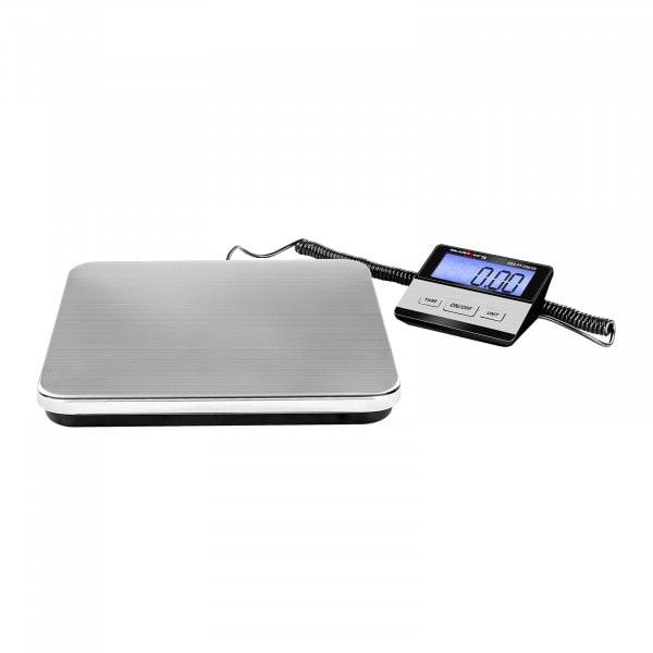 Paketvåg - 200 kg / 50 g - Basic - digital - Extern LCD-skärm