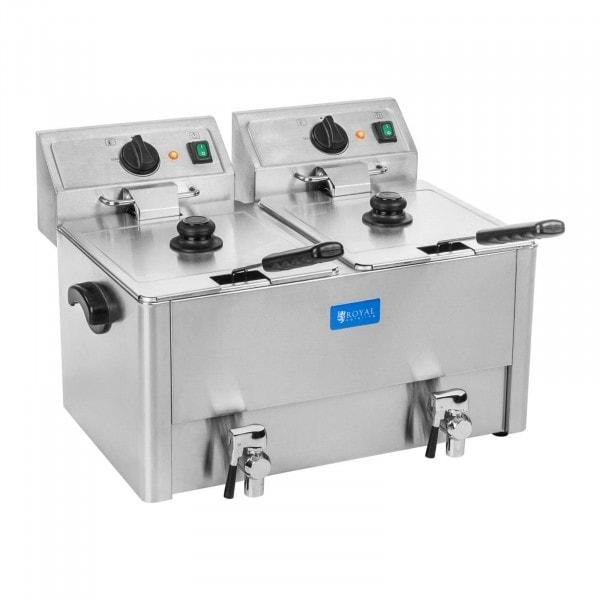 Fritös - 2 x 13 liter - EGO termostat