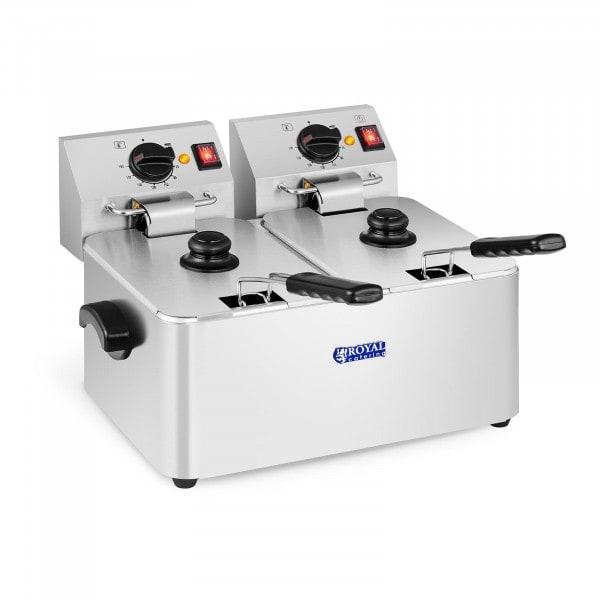 Fritös - 2 x 8 liter - EGO-termostat